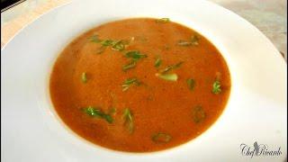 Lentil & Tomato Soup - Chopped Tomato | Recipes By Chef Ricardo