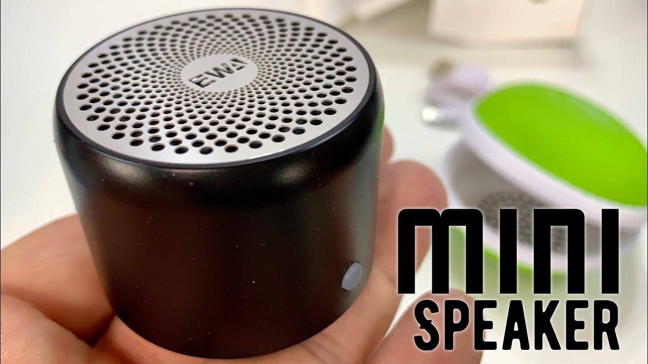 Smallest Bluetooth Speaker That Totally Rocks! The EWA A106 Review