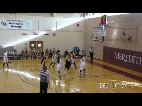 Meredith College basketball hosts UW-Oshkosh Dec. 16, at 2 p.m.