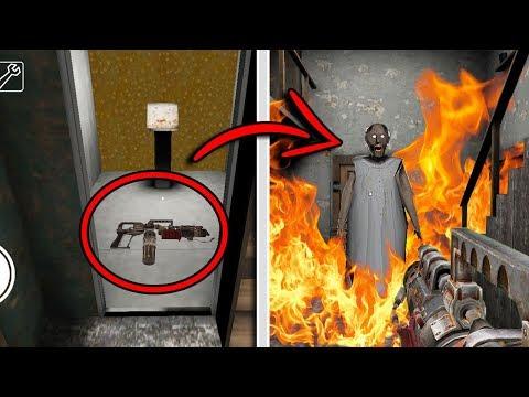 SECRET FLAMETHROWER WEAPON in Granny Horror Game! (New Secret Weapon)