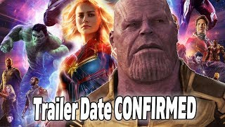 Avengers 4 Trailer Date CONFIRMED! Captain Marvel Trailer Breakdown!