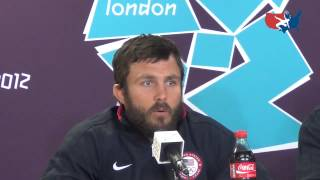 U.S. Olympic freestyle wrestling team press conference at London Olympic Games