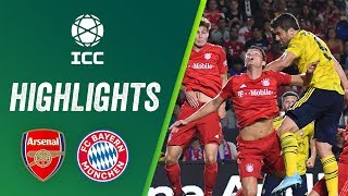 ICC 2019 Highlights: Arsenal 2 - 1 FC Bayern