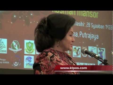 Kejayaan Negara Dikagumi Negara Luar - Rosmah Mansor 18/7/2012