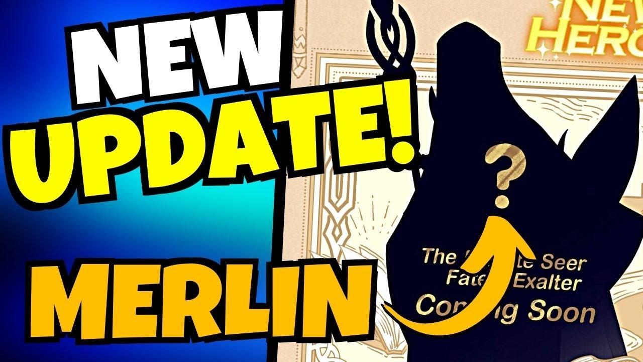 Download *NEW UPDATE* MERLIN COMING & QOL!!! [AFK ARENA]