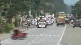 sumilao marchers at tubay, agusan del norte