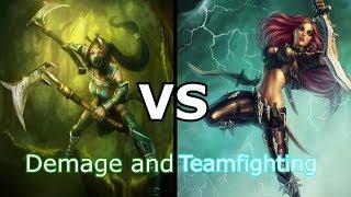 LoL - Which one is better ? Akali vs Katarina.