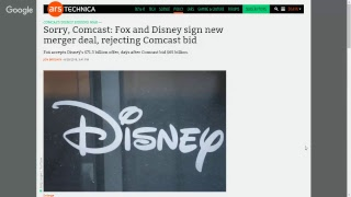 The End is Here. Disney Buys Fox!