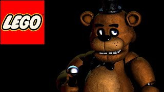 How to build lego FNaF characters: Freddy