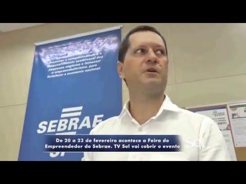 FEIRA EMPREENDEDOR SEBRAE MARÍLIA 2016 - 10-02-2016 - JOÃO P. SANTOS - TV SOL