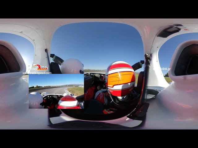 360 Video With Radical SR3 RS driven on Serres Circuit Track-speed.com
