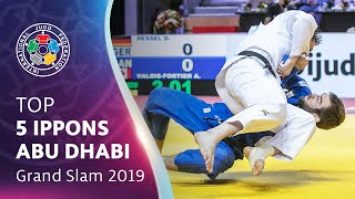 Top 5 Ippons - Abu Dhabi GS 2019
