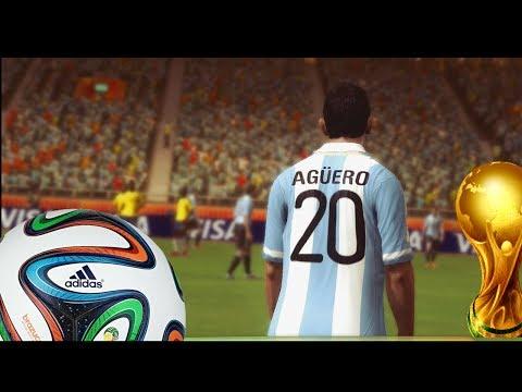 2014 Fifa World Cup - Colombia y Argentina por el primer puesto - Eliminatorias - Gameplay xbox 360