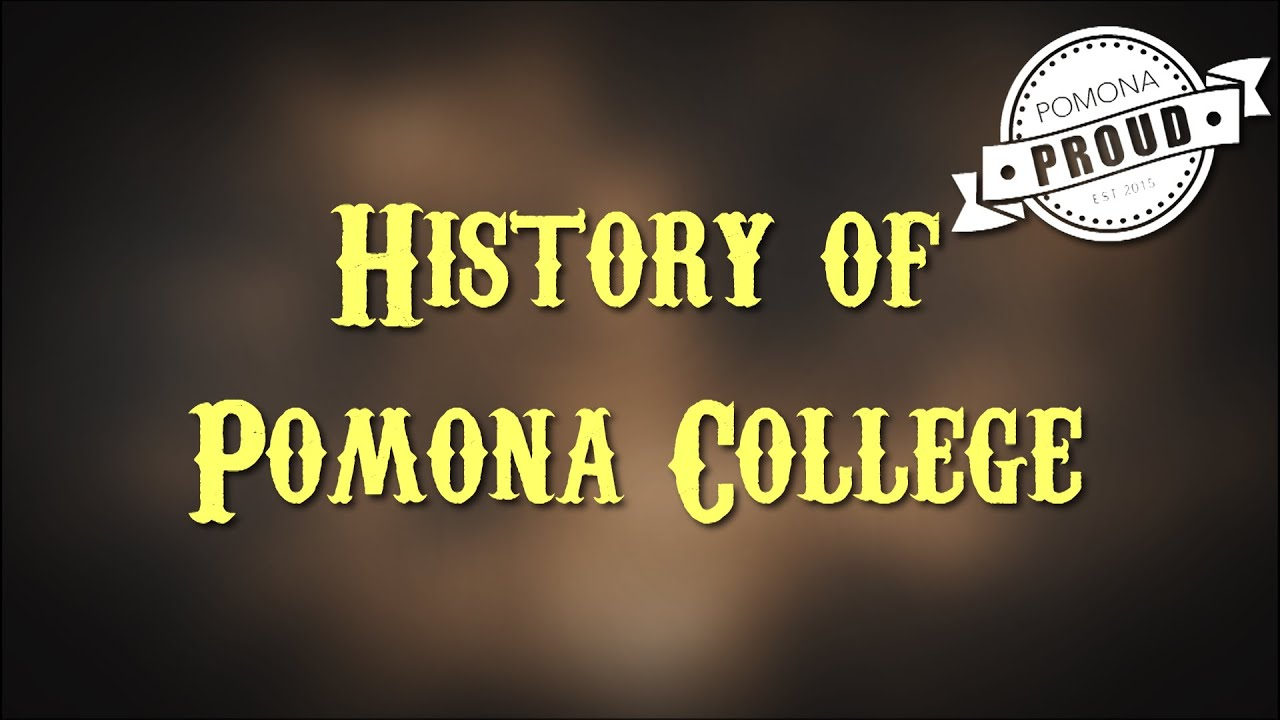 pomona college history thesis Programs history department core faculty history department extended faculty hal barron harvey mudd college department history view profile george gorse pomona.