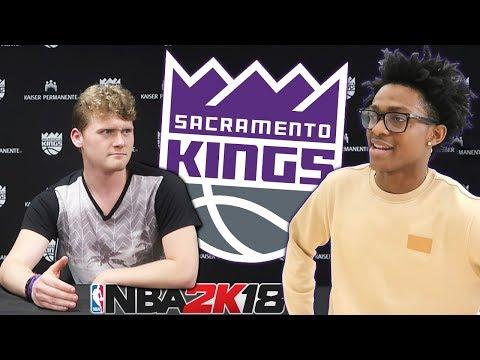 REBUILDING THE SACRAMENTO KINGS FT. DE'AARON FOX! NBA 2K18