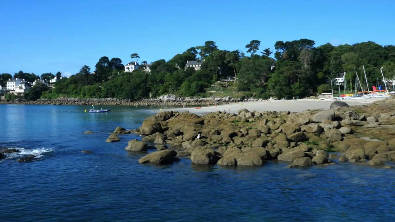 Camping le saint nicolas port manech n vez bretagne finist re sud youtube - Port de trebeurden bretagne ...