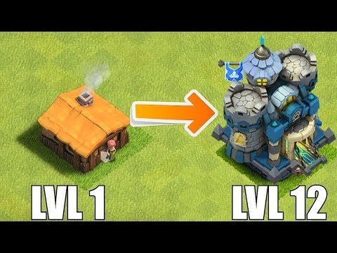 LVL 1 - TOWN HALL 12 THEME CONCEPT!!