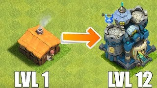 "LVL 1 - TOWN HALL 12 THEME CONCEPT!! ""Clash of clans"" NEW CHALLENGE!!"