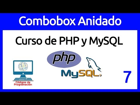 7: Combobox (Select) dinámicos en PHP, AJAX y MySQL