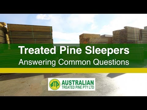 Treated Pine Sleepers FAQs - Answering Common Questions About Treated Pine Sleeper