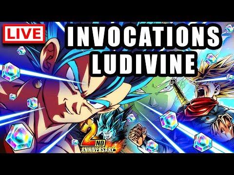 🔴 INVOCATIONS 2 ANS DRAGON BALL LEGENDS pour LUDIVINE