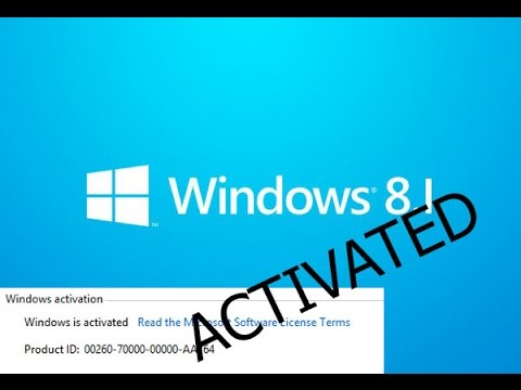 activate windows 8.1 pro build 9600 product key
