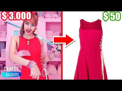 10 Awesome K-Pop Inspired Fashion Hacks | DIY BLACKPINK Outfits