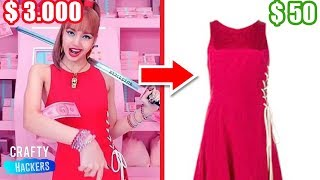 DIY Your Own K Pop Fashion Clothes! BLACKPINK Inspired Music Video Outfits