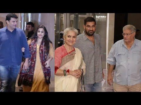Aditya Roy Kapur's Mother Salome Roy Kapur's Birthday Celebration | Vidya Balan, Siddharth Roy Kapur