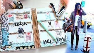 Plan With Belinda: Travel Checklist Weekly Spread | Belinda Selene