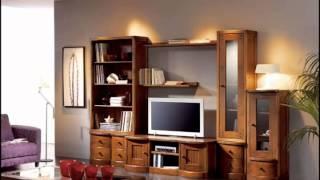 muebles de salon y de dormitorio en madera