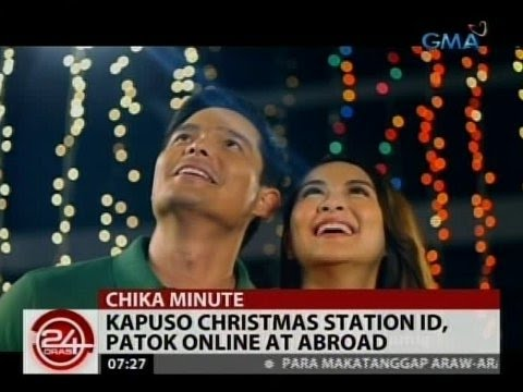 Kapuso Christmas Station ID theme song, pwedeng i- download sa iTunes