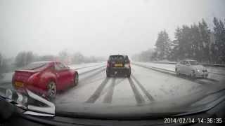 Važiavimas per sniegą žieminėmis padangomis