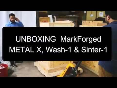 Markforged Metal X Unboxing - Chemtron (Singapore)