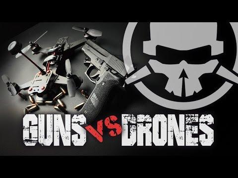 Guns vs Drones