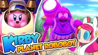 el apagn   16   kirby planet robobot 3ds en espaol