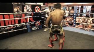 Buakaw Banchamek takes on 109kg ONEFC mma heavyweight!