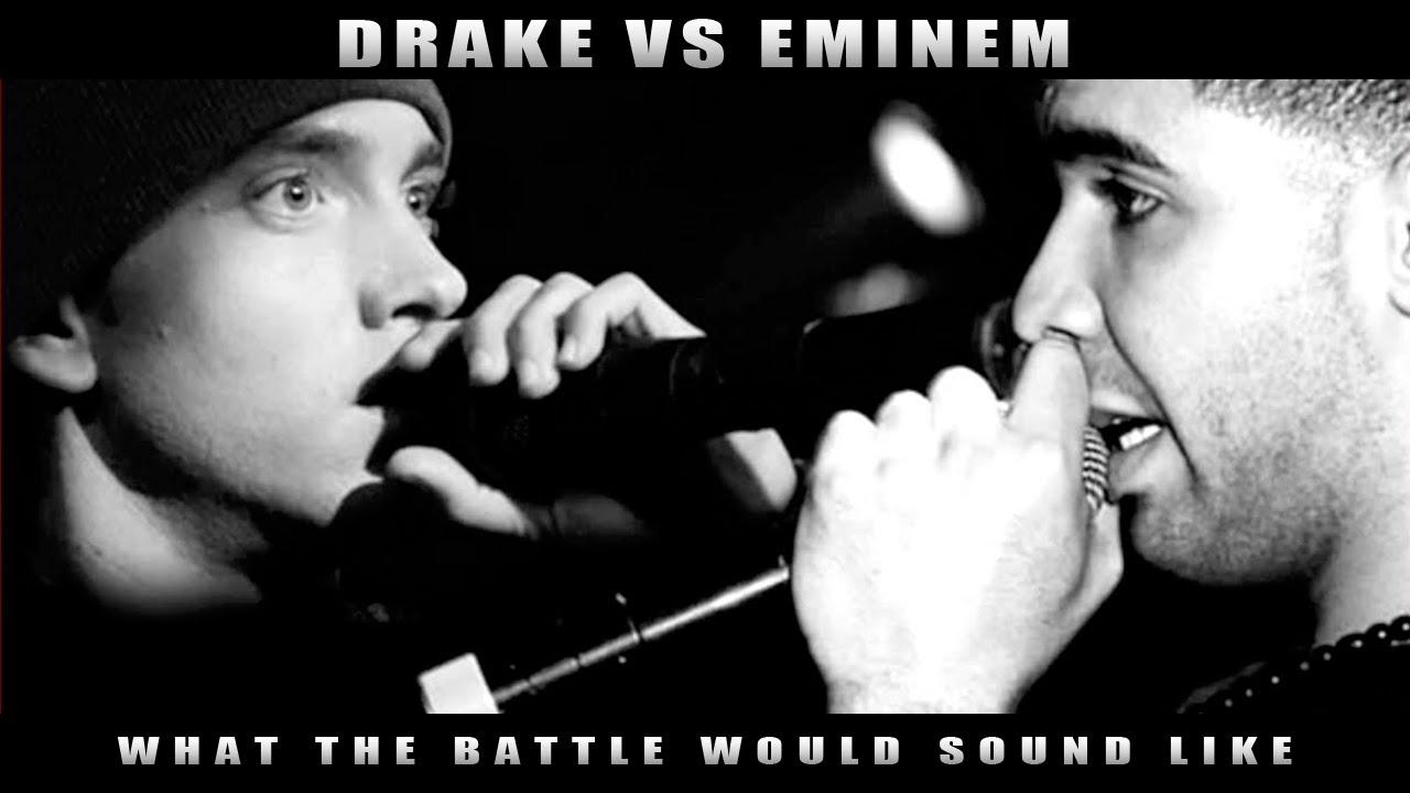 What A Drake Vs. Eminem Rap Battle Would Sound Like! (Parody)