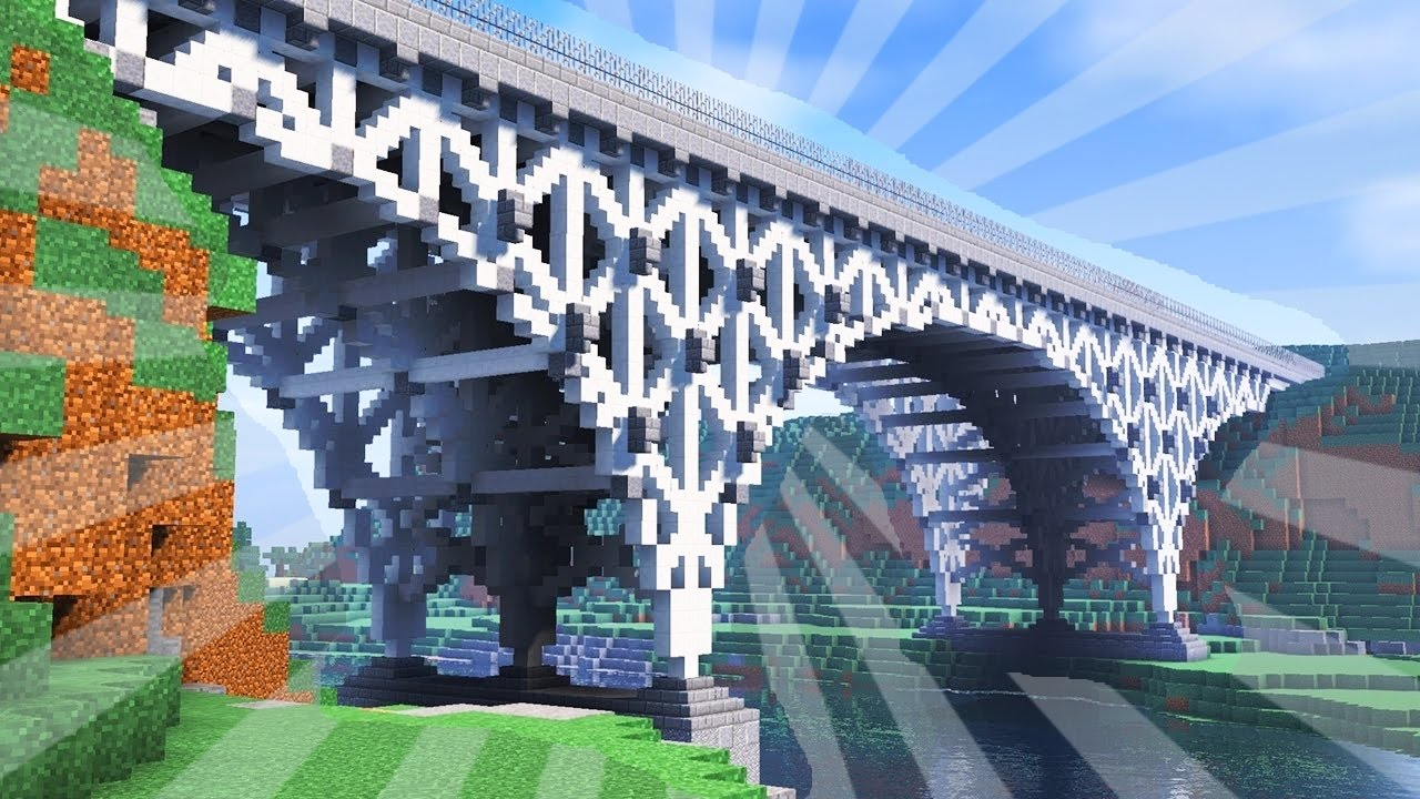 How To Build A Bridge Minecraft