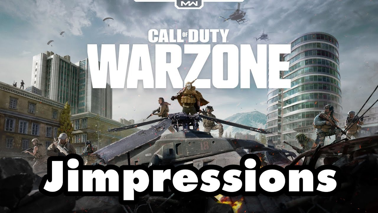 Call Of Duty: Warzone - The Plane Poops People (Jimpressions)