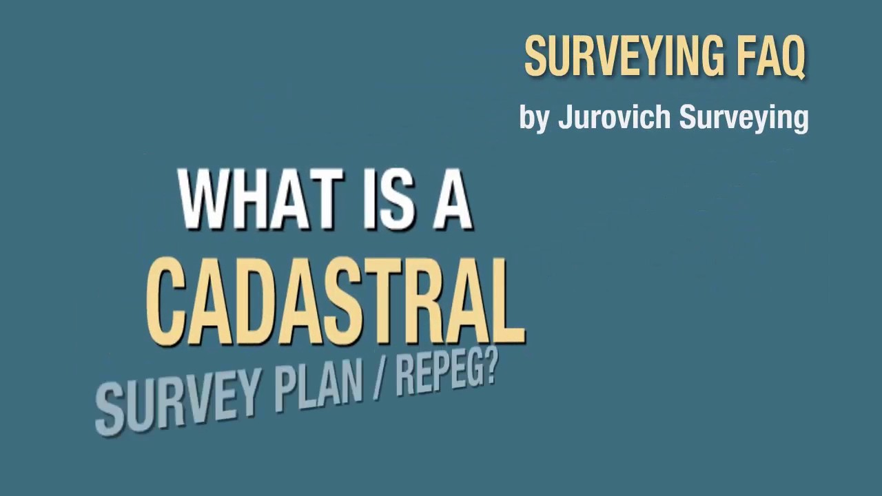 What is a cadastral plan Drawing up a cadastral plan for real estate