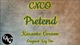 CNCO - Pretend Karaoke Instrumental Lyrics Cover Original Key Bm