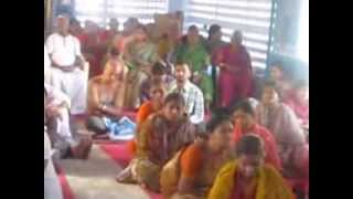 Master CVV Satya Yoga Samavesam at Yoga School Piduguralla on 2.12.2012.