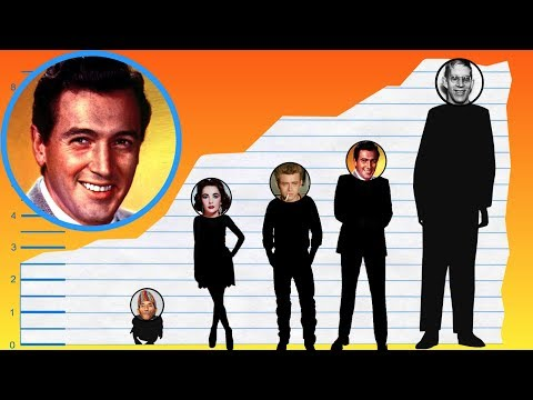 How Tall Is Rock Hudson? - Height Comparison!