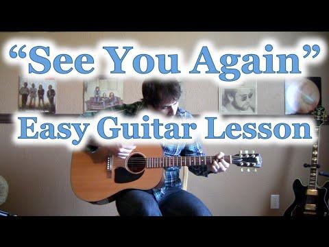 "Guitar guitar chords see you again : How to Play ""See You Again"" GUITAR TUTORIAL [Wiz Khalifa ft ..."