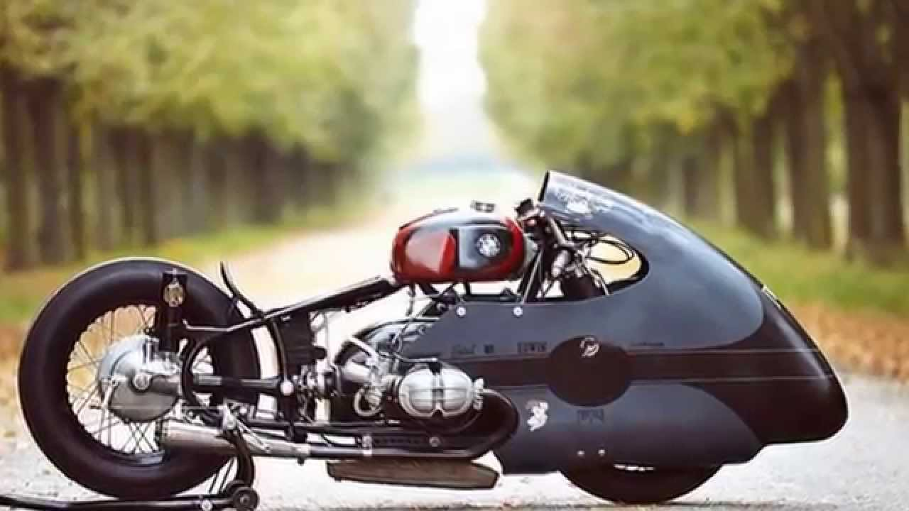 Bmw Racing Motorcycle Sprintbeemer By Lucky Cat Garage