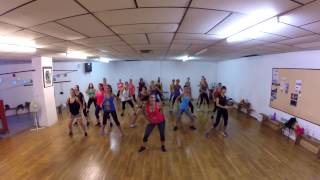 "ZUMBA CHOREO : ""Get Up"" / Dahrio Wonder"