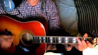 #30 ~ Girl From The North Country ~ Bob Dylan - Johnny Cash ~ Cover W/ Epiphone Dove Pro & Bluesharp