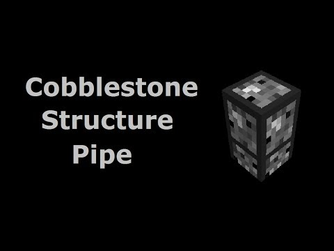 Cobblestone Structure Pipe (Tekkit/Feed The Beast) - Minecraft In Minutes