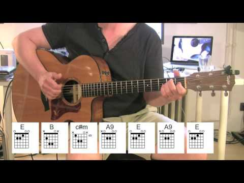 Love Yourself - Acoustic Guitar - chords, tutorial - Justin Bieber